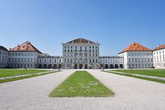 Nymphenburg Palace park, Munich Royalty Free Stock Images