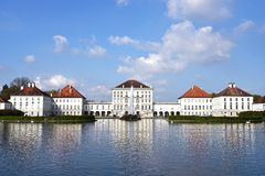 Nymphenburg Palace park, Munich Stock Photos