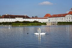 Nymphenburg Palace park, Munich Stock Images