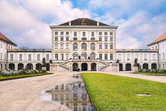 The Nymphenburg Palace Stock Photo