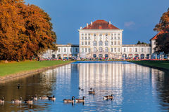 Free Nymphenburg Palace With The Royal Garden In Munich, Germany Royalty Free Stock Photography - 80082327