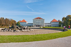 Nymphenburg Palast lizenzfreie stockfotografie