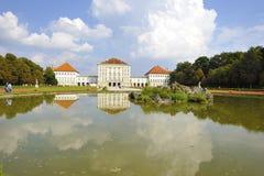 Nymphenburg Palast Stockfoto