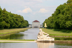 In the nymphenburg park. Nymphenburg park in munich,germany Stock Images