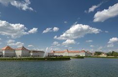 Nymphenburg Schloss Royalty Free Stock Photography