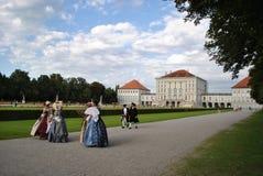 Nymphenburg-Schloss Stockbild