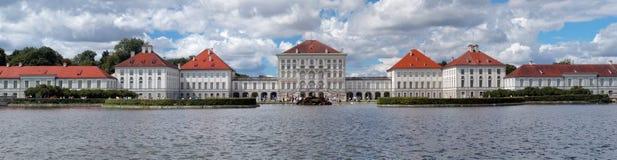 Nymphenburg-Schloss in München Stockfotografie