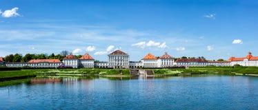 Nymphenburg slott bavaria germany munich Arkivfoto