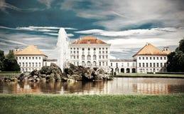Nymphenburg slott i Munich fotografering för bildbyråer