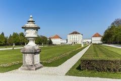 Nymphenburg slottjordning i Munich Royaltyfri Bild