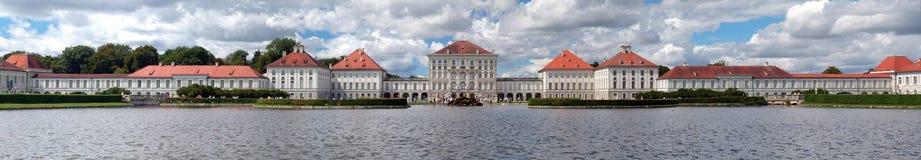 Nymphenburgkasteel in München Stock Foto's