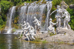 Nymphs mythological statues Royalty Free Stock Photos