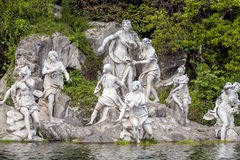 Nymphs in Royal Palace in Caserta Royalty Free Stock Photos