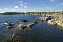 Nynäshamn群岛 库存照片