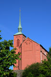 Nynashamn教会  库存照片