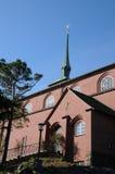Nynashamn教会 免版税库存照片