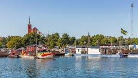从Nynashamn的场面, 免版税图库摄影