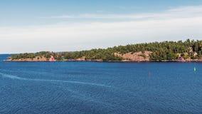 Ландшафт около Nynashamn Стоковые Фотографии RF