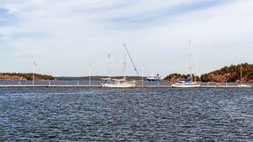 在Nynashamn附近的风景 免版税库存图片