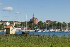 Nynashamn archipelago town Stock Image