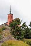 Nynashamn-Kirche, Lizenzfreies Stockfoto