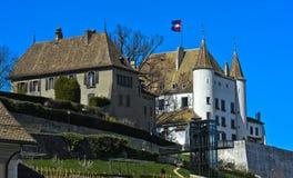 Nyon Castle Stock Image