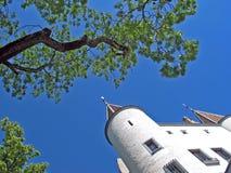 Nyon Castle, Swisse. Chateau de Nyon Stock Photos