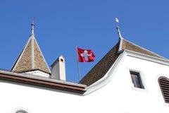 Nyon castle, Switzerland Royalty Free Stock Photography