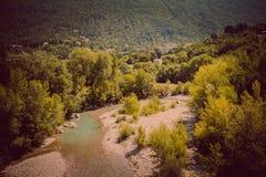 Nyons i den Europa resanden i Frankrike Arkivfoto