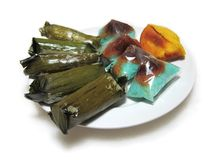 Nyonya cake. Exotic Colorful Traditional Cakes Commonly Found in South Asia Royalty Free Stock Image