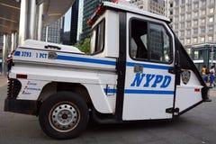 NYPD汽车 图库摄影