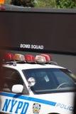 NYPD汽车 免版税库存照片