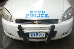 NYPD汽车 免版税图库摄影
