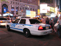 NYPD警车 库存照片