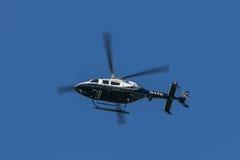NYPD直升机 库存照片