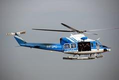 ελικόπτερο nypd Στοκ φωτογραφίες με δικαίωμα ελεύθερης χρήσης