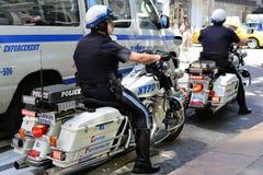 NYPD Fotografie Stock Libere da Diritti