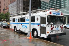 NYPD车 库存照片