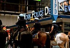 NYPD foto de archivo