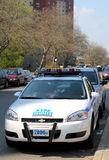 NYPD axillary car in Brooklyn, NY Stock Images