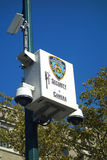 NYPD Cameras Royalty Free Stock Photos