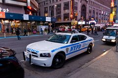 NYPD Car Stock Image