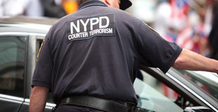 NYPD Counter Terrorism Royalty Free Stock Photos