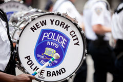 Nypd Drums Stock Image