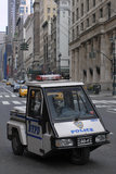 NYPD Go-4 vehicle Stock Image