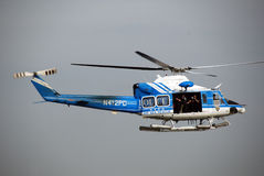 NYPD helicopter Royalty Free Stock Photos