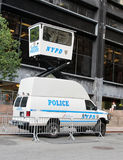 NYPD Mobile Surveillance Van royalty free stock images