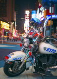 NYPD Motorcycle Royalty Free Stock Images