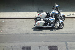 NYPD Motorcycles Royalty Free Stock Images
