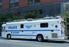 NYPD Nakazowa poczta w world trade center terenie Manhattan fotografia stock